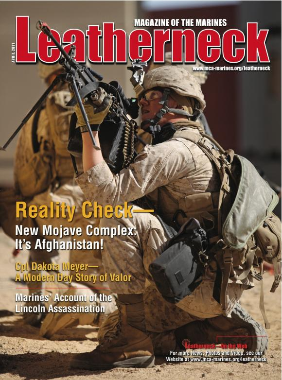 Cover photo by Cpl. Andrew S. Avitt